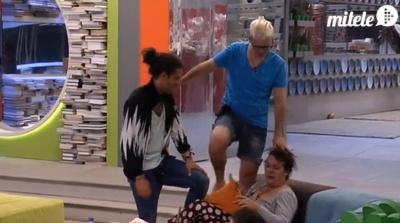 Álvaro, Desi y Kris